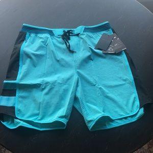 New Men's Hurley Hyperweave Stripe Boardshorts